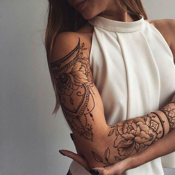 17 Best Ideas About Women Tribal Tattoos On Pinterest: Inspiração De Tatuagens Femininas Para